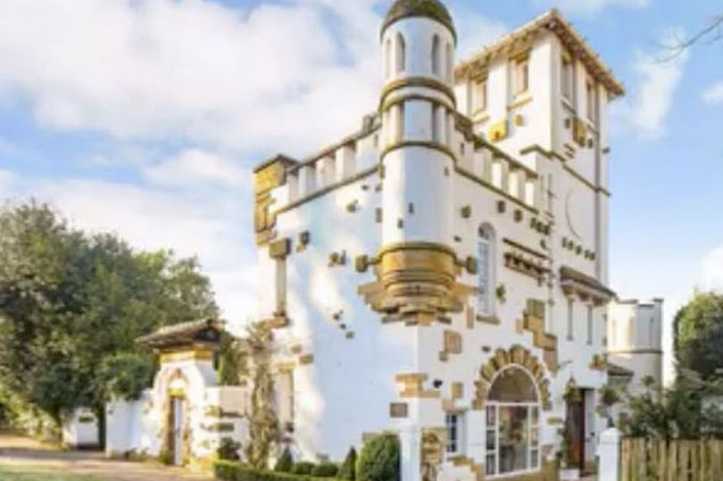Italian-style 'castle' with its very own turret on sale in UK for less than £1m